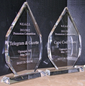 Crystal Awards Custom Engraved